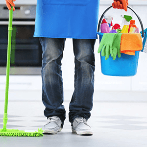 Monthly household cleaning